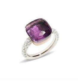 Pomellato Pomellato Nudo Maxi ring amethist en diamant