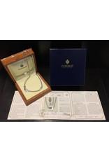 Fabergé Fabergé 18 kt. witgouden dubbel jasseron collier