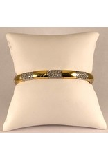 18 kt. bi color armband met diamanten 1.97 ct.