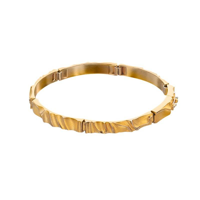 Lapponia Lapponia Egina 14 kt. gouden armband 18.5 cm.