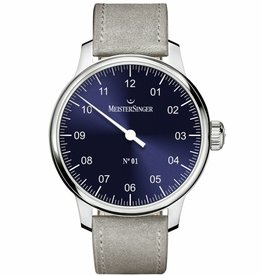 MeisterSinger MeisterSinger No.01 43mm Sunburst Blue