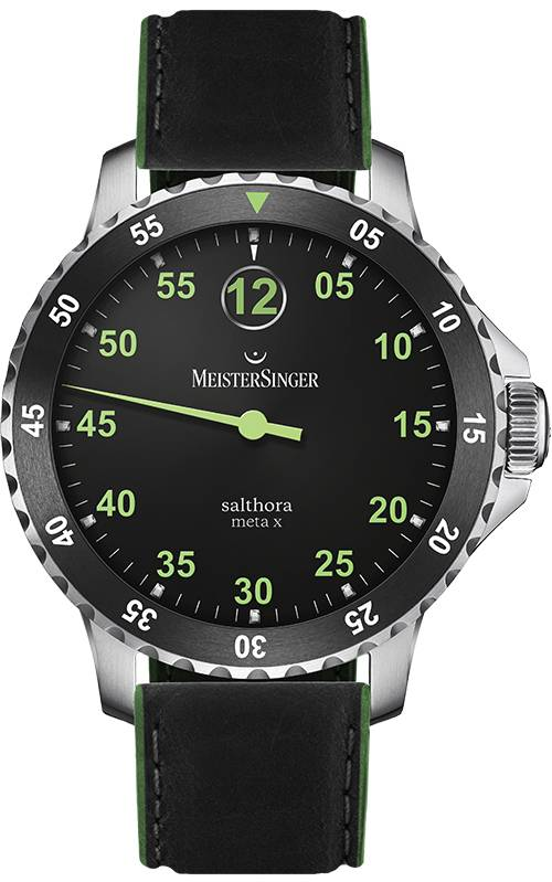 MeisterSinger MeisterSinger Salthora Meta X Black&Green 43mm