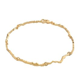 Lapponia Lapponia Moonlit Eve gouden Armband