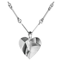 Lapponia Lapponia My Foolish Heart zilveren collier