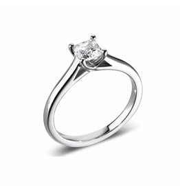 Private Label CvdK Solitair ring witgoud 18 krt. met een briljant van 0,32 ct.
