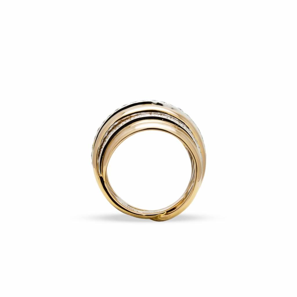 Leo Pizzo Leo Pizzo ring met diamant