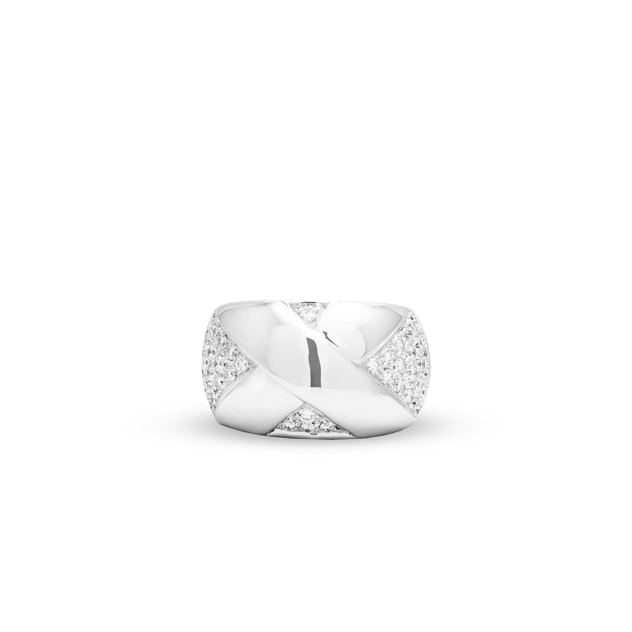 Private Label CvdK Een 18kt witgouden ring met diamant 1,00ct.
