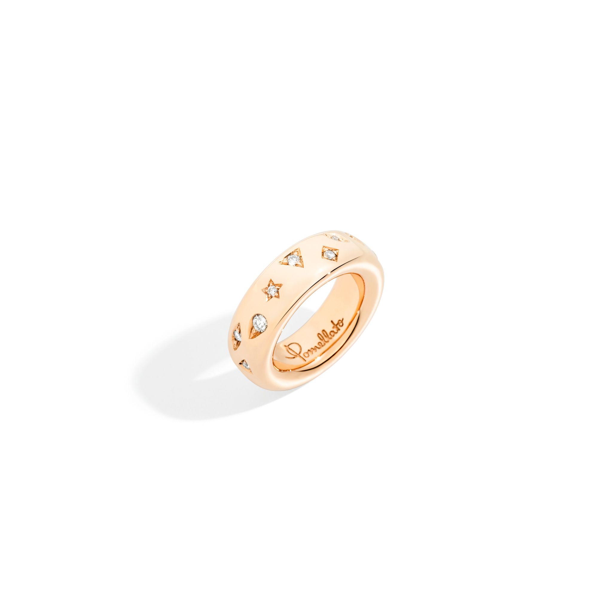 Pomellato Pomellato Iconica Ring Medium met diamanten