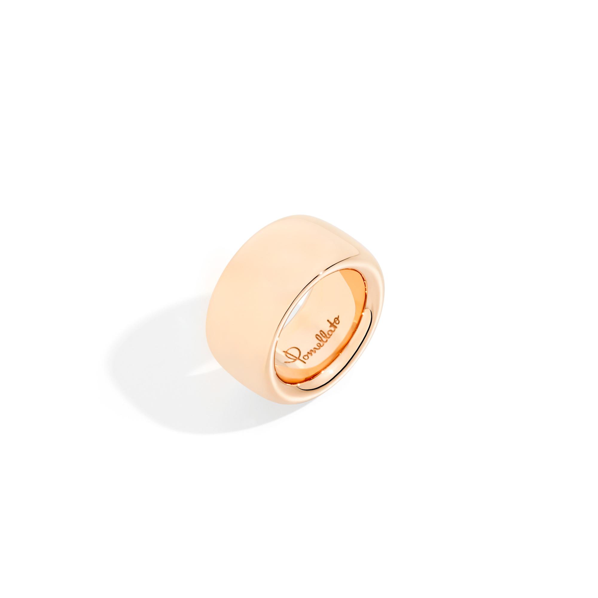 Pomellato Pomellato Iconica Rosegouden Maxi Ring 18k