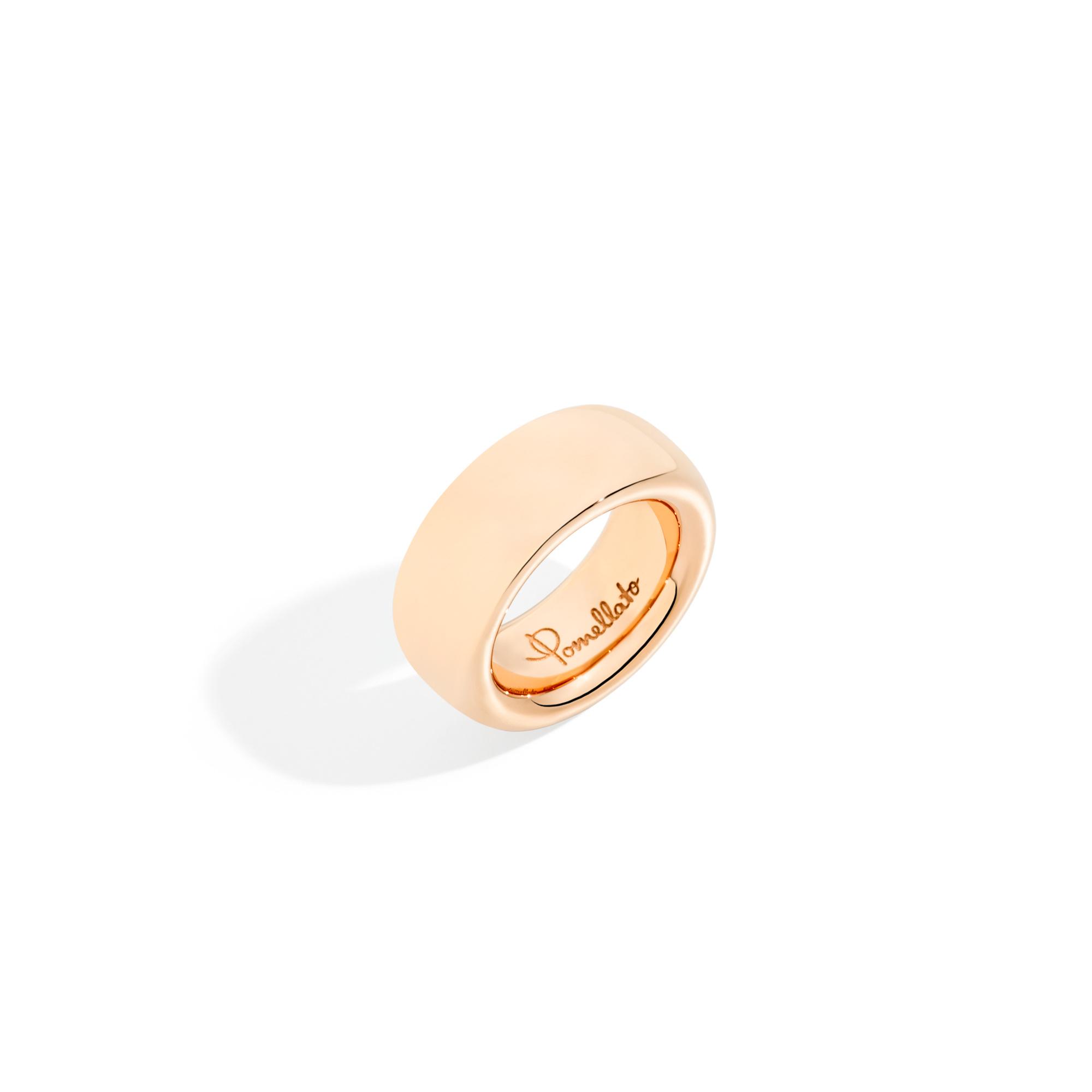 Pomellato Pomellato Iconica Rosegouden Ring Large 18k