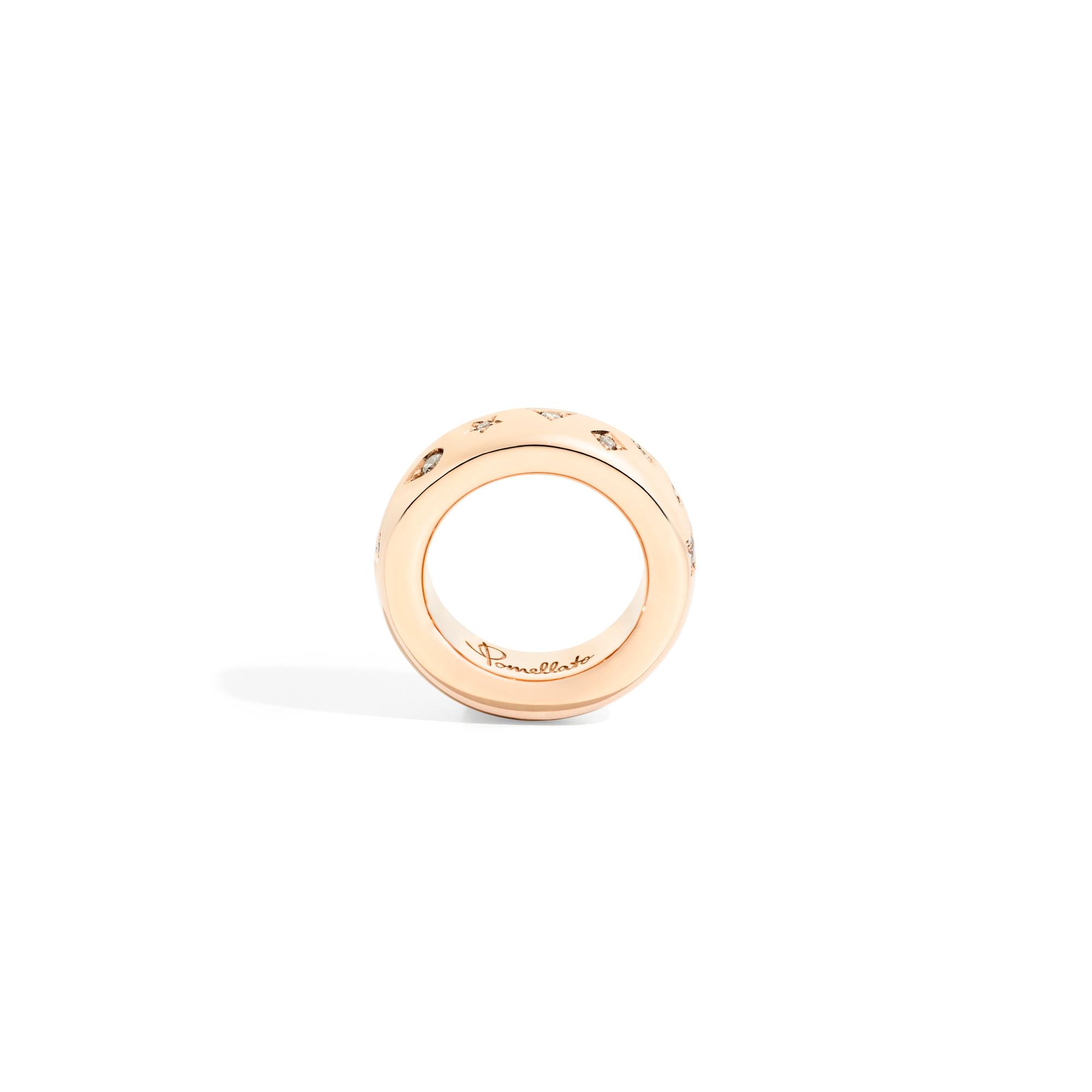 Pomellato Pomellato Iconica Ring Large met diamanten
