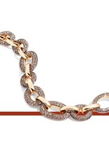 Pomellato Pomellato Tango armband met cognac diamanten 4.8ct.