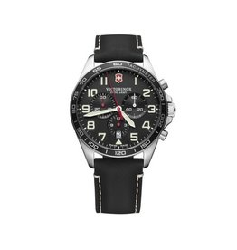 Victorinox Victorinox Fieldforce Chronograph Zwart 42mm