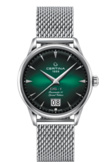 Certina Certina DS-1 Powermatic 80 Special Edition powermatic Big Date, 41mm edelstalen kast en milanese band