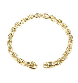 Private Label CvdK 14kt geelgouden fantasie schakelarmband