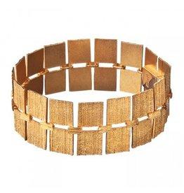 Lapponia Lapponia Quadro gouden armband