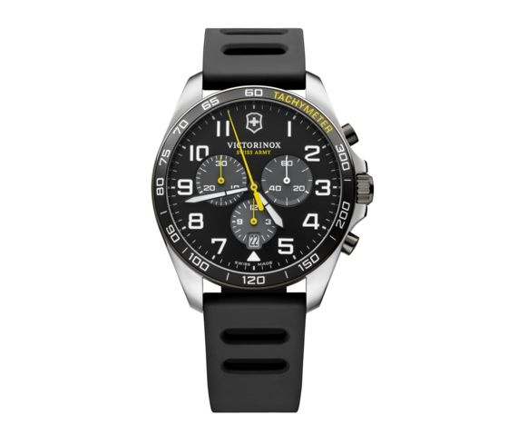 Victorinox Victorinox Fieldforce Sport Chrono Quartz, 42mm edelstalen kast met rubber band