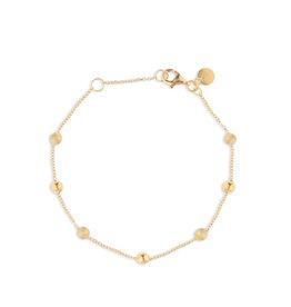 Italo Bottene Italo Bottene 14kt geelgouden armband  met bolletjes