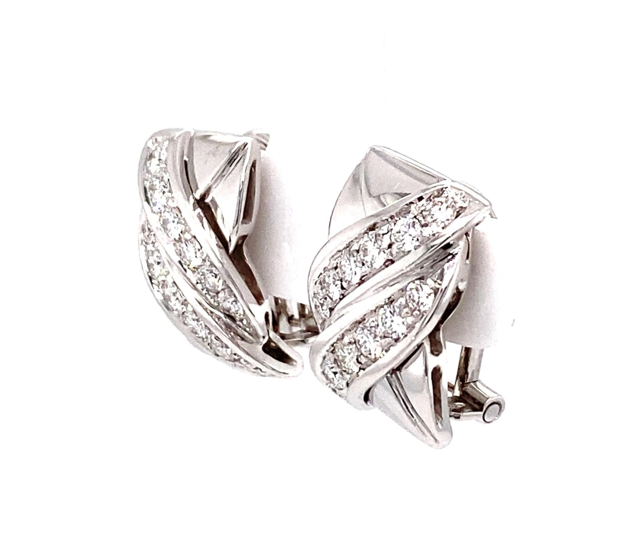 Leo Pizzo Leo Pizzo oorbellen met diamant