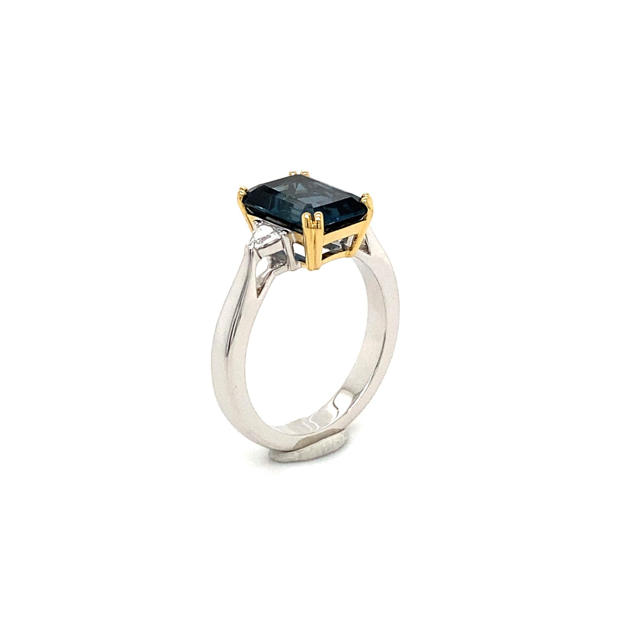 Private Label CvdK Private Label CvdK  gouden ring diamant/london topaas