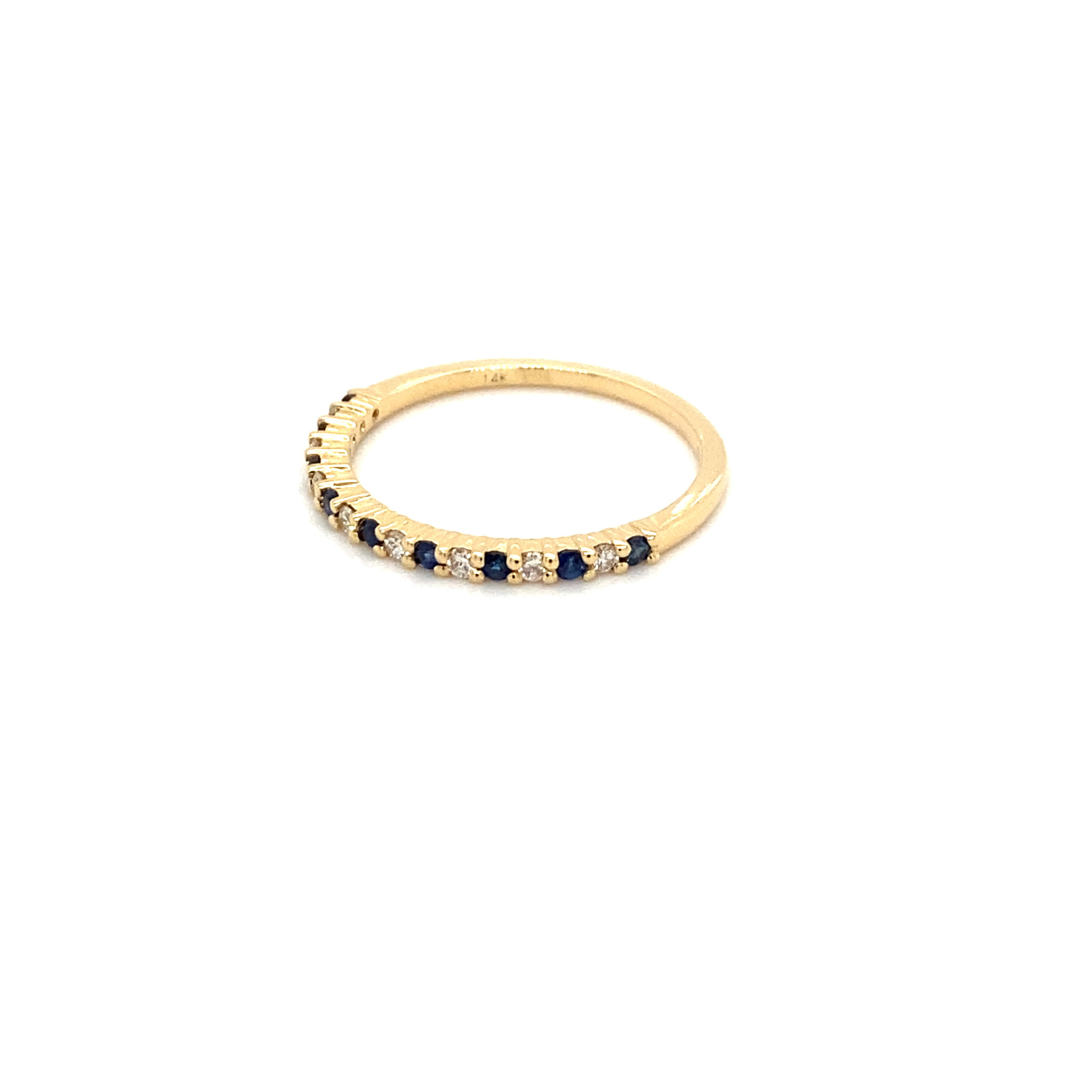 Private Label CvdK Private Label CvdK gouden ring diamant/saffier