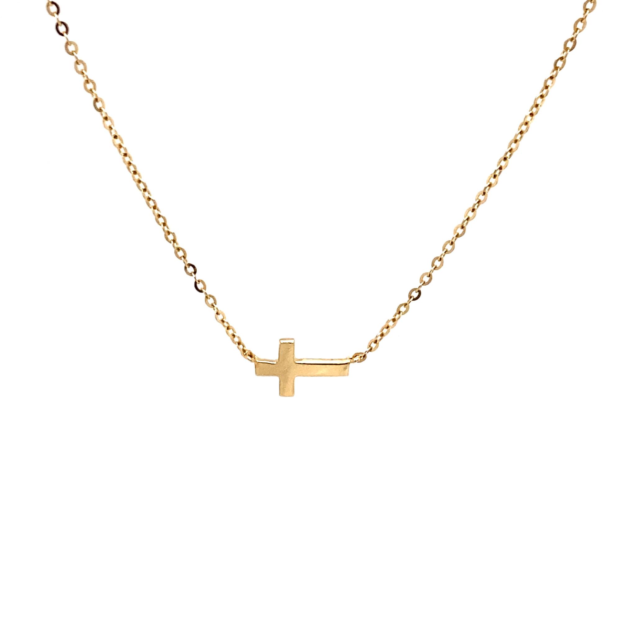Private Label CvdK Private Label CvdK  gouden collier kruis