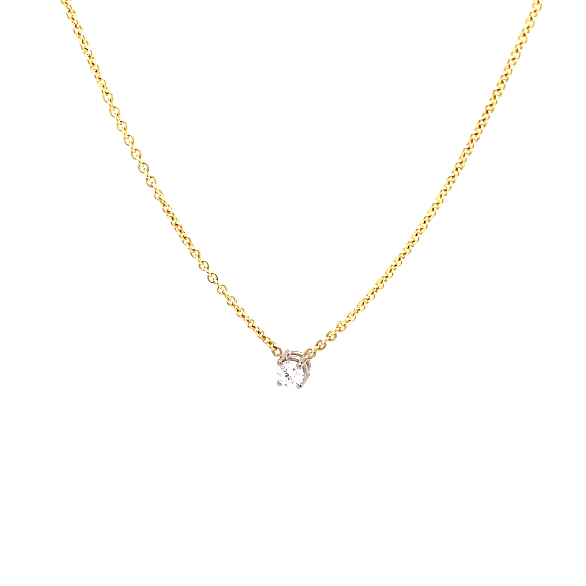 Private Label CvdK Private Label CvdK  gouden collier diamant