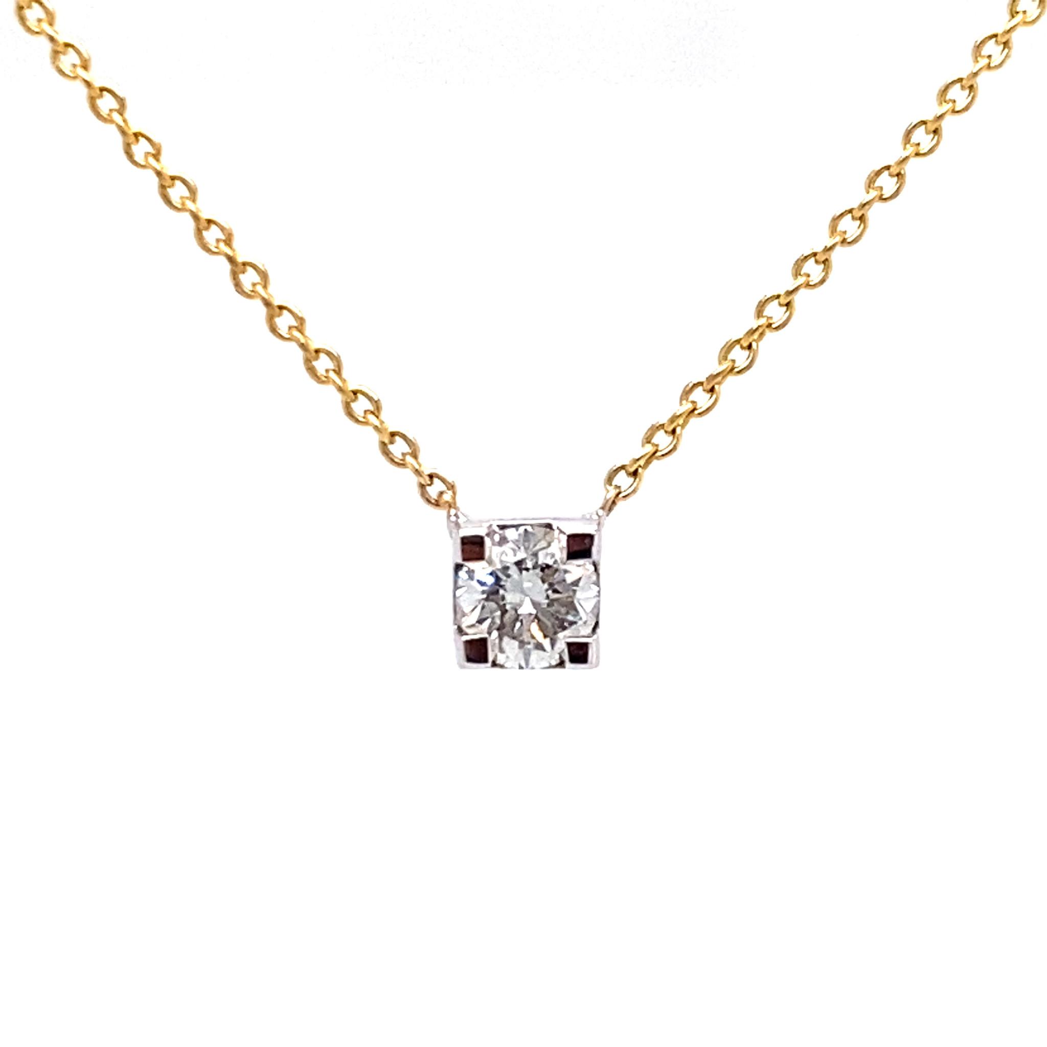 Private Label CvdK Private Label CvdK  gouden collier diamant