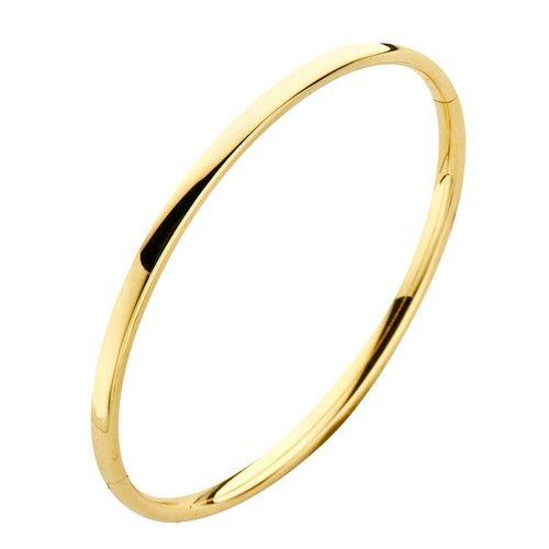 Fjory Fjory geelgouden armband met zilveren kern