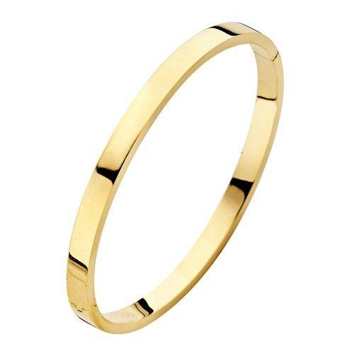Fjory Fjory gouden armband met zilveren kern