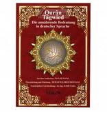 Quran Tagwied Teil 30 Juzz Amma (Tajweed, arabisch, deutsch)