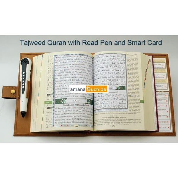 Quran Tagwied mit Lesestift / Read Pen (arabisch/türkisch)