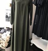 Schlichte Abaya mit Reisverschluss/Zipper