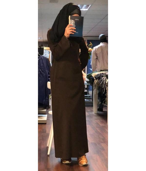 Schlichte Abaya Marokkanischer Schnitt