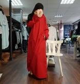 Abaya - Kleid Fein (Rot)