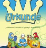 Urkunde für den strebenden kleinen Muslim