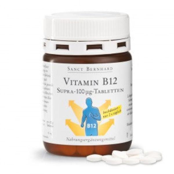 Vitamin-B12-Supra-100 µg-Tabletten