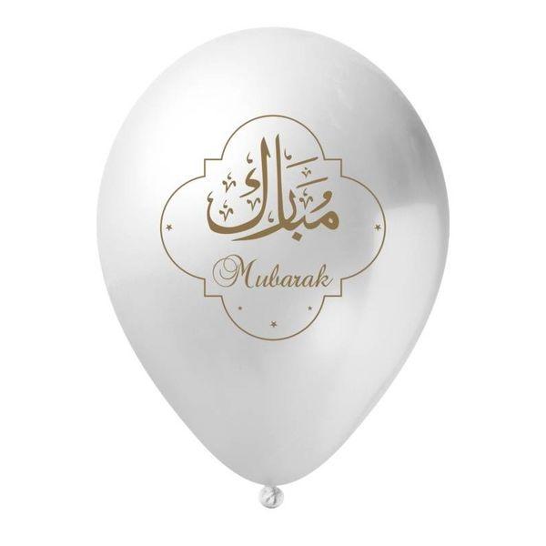 Ramadan Mubarak Ballons (5 Pack)