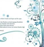 Hadith-Sorge Kummer Krankheit im Islam - Postkarte - XL