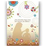 Das Paradies liegt unter den Füssen der Mütter - Postkarte XL