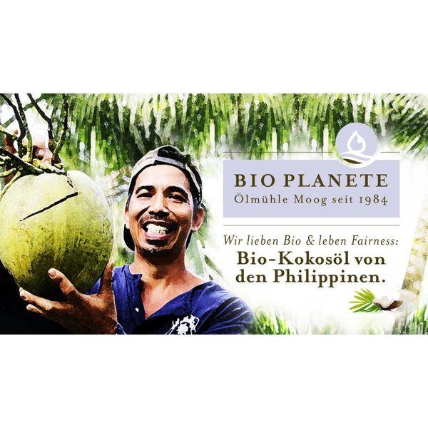 Bio Planète Kokosöl nativ, 200 ml