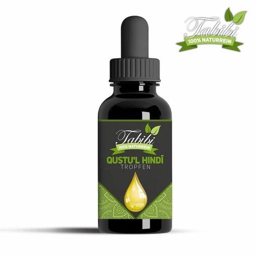 Al Qust Al Hindi & Olivenöl gemischt in Pipettenglas - 30 ml