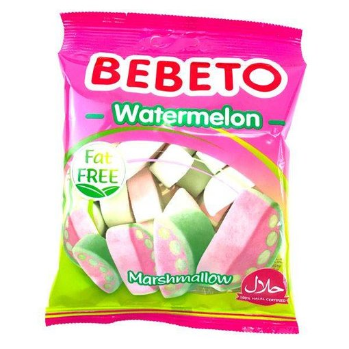 Bebeto - Watermelon Marshmallows 60g