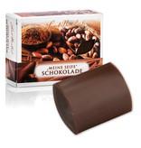 Schokoladen-Seife mit echtem Kakao-Pulver