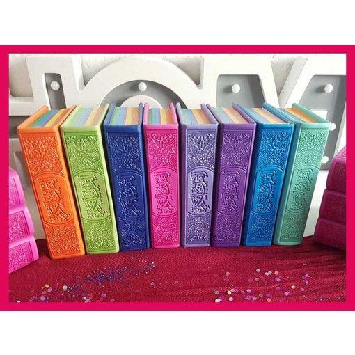 Regenbogen Quran - Kunstleder Cover  (klein)