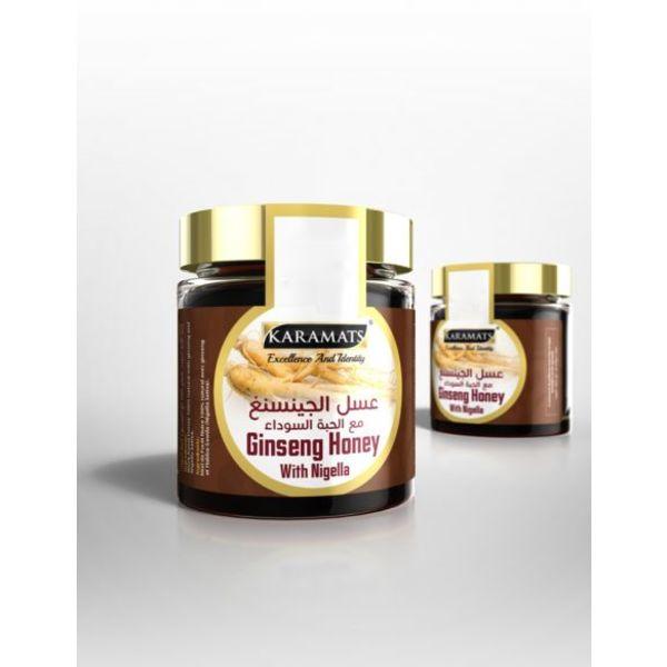 Karamat - Schwarzkümmel Honig Ginsenger 250 g