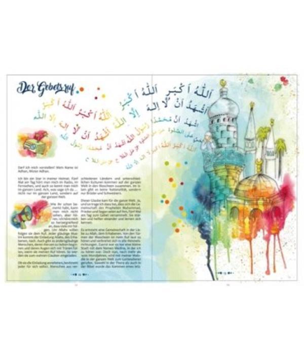 """""""Tauche ein und erlebe"""" - islamische Geschichten für kleine Muslime"""