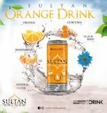 Sultan Orange Drink- Mandarine, Kurkuma