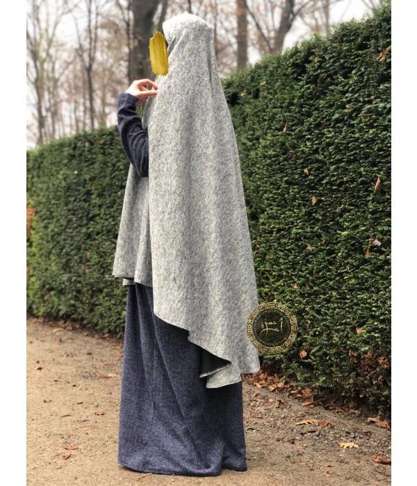 Umm Hamza Dress - Poncho Khimar Amira 015