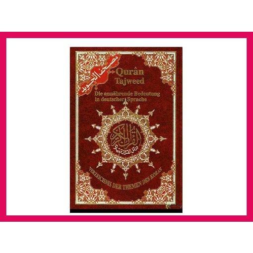 Quran Tajweed - Deutsch - Arabisch